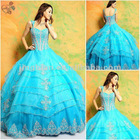 New Gorgeous Sleeveless Floor Length Ball Gown Quinceanera Dresses Prom Gowns CY489
