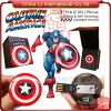 Marvel cartoon Captain America usb flash drive, Shield usb flash memory
