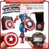 Marvel cartoon Captain America usb flash drive, Shield usb flash memory