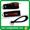 Custom Durable neoprene keychain wristband