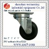 caster and wheel for industrial trolly