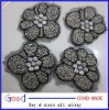 2011 new style brooch with beads