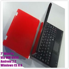 7inch laptop computer wifi camera 256MB DDR 2GB HDD Notebook
