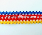 Brigtht colourful wavy tape webbing
