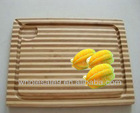zebra bamboo cutting board