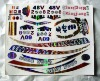 2012 self adheisv silver sticker/silver sticker label