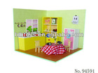 3D DIY Wooden Doll House,Cottage,shop,Puzzle Toys,Series Code:1109418