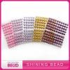 Colorful round pearl sticker