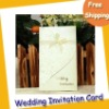 Invitation Cards with silk ribbon