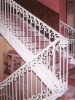 Decorative Wrought Iron Indoor Stair Railing