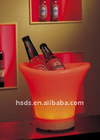 LED plastic Ice Wine Buckets remote control