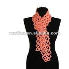 Fashion Womens Hand Crocheted Cotton Scarf
