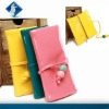 2012 Fashion Latest Design Ladies Purse with pu material