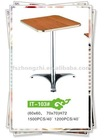 Square Aluminum Table With HPL