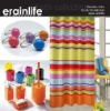 Colful strip polyresin shower curtain hooks