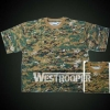 Army T Shirts In Digit Woodland COMBAT SHIRTS