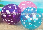 2012 promotional inflatable beach ball set