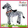 Ponycycle Amusement park Zebra ride on toy