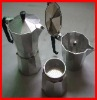 Aluminum moka Coffee pot