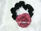 Austria Crystal rose Circlet Ponytail elastic cord for hair(HA-0033)