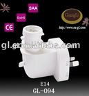 CE/RoHS/SAA porcelain receptacle
