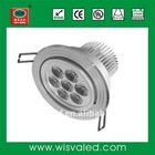 High power 7W cree LED recessed down lighting