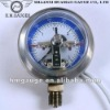 Electro connecting pressure gauge/Meter/Manometer for boiler