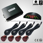 High definition 12 hours aging LED display reverse parking sensor