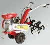 hand-operated portable gasoline engine rototiller