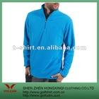 100% polyester fleece blue winter casual sport wear