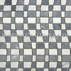 Nero Marquina Mix Ariston White Wave Marble Mosaic Tile
