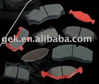 Car brake pad from my factory