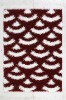 Chinese knot Shaggy rug