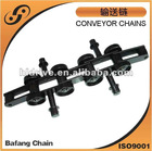 Conveyor chain for latex industry