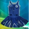 Netball skirts,custom made spotswear