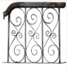Wrought Iron Railings and Balconies