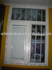 PVC inward shutter windows