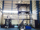 Three-Layer Co-extruding Traction Rotation Blown Film Machine Group,Co-Extrusion Blown Film Machine