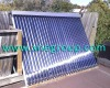 split pressure heat pipe solar collector heater