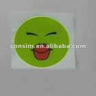 reflective sticker for safety decoration and warning,silver reflective sticker