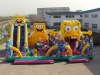 hot sale inflatable bounce slide castle for children playing