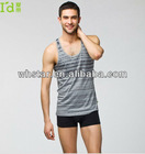 Cheap tank tops for men cotton modal functional vest