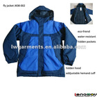 MENS 100% POLYESTER PADDED FLY JACKET/ WINTER JACKET/ BEST SPORT JACKET