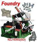 aluminium alloy casting machine