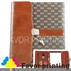2012 New Business leather folder with lock