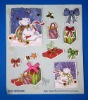 sell 3d handmade diy greeting card sticker (christmas series)