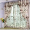 Jacquard embroidery curtain
