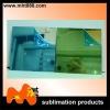 sublimation aluminium gold silver mirror sheet