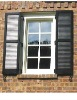 PVC louver shutter window