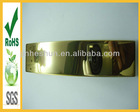 New design high quality mirror solid brass long belt buckles